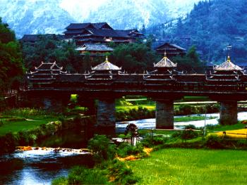著名的程阳风雨桥