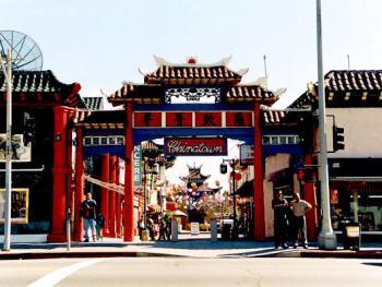 国中之国――美国洛杉矶中国城