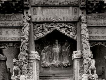 中国古民居三雕装饰艺术