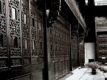中国古民居三雕装饰艺术05