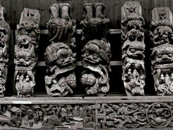 中国古民居三雕装饰艺术07