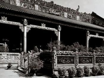 中国古民居三雕装饰艺术09