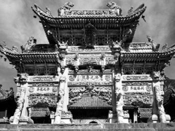 中国古民居上的龙饰5