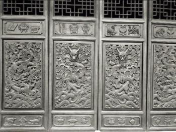 中国古民居上的龙饰7