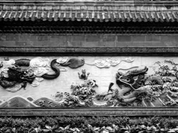 中国古民居上的龙饰8