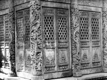 中国古民居上的龙饰