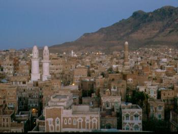 老区萨那老区,也门的首都,是联合国教科文组织认定的世界建筑的瑰宝。实际上,在这个地区也有现代建筑,与之巧妙结合