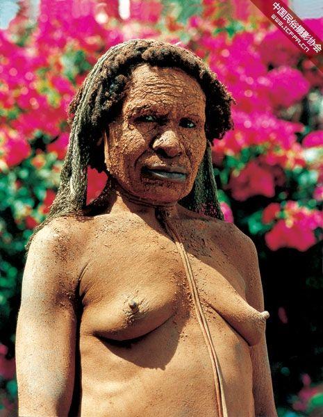 摄影 食人族/新几内亚食人族6