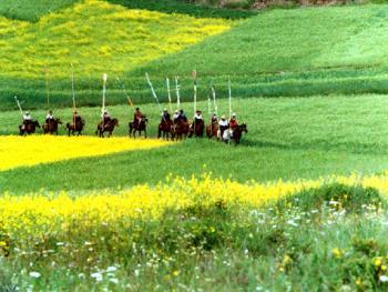 藏族插箭节01