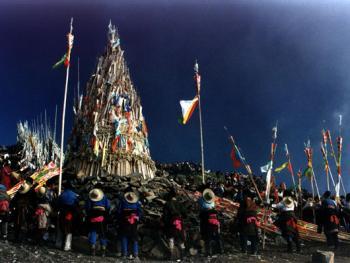 藏族插箭节06
