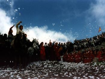藏族插箭节