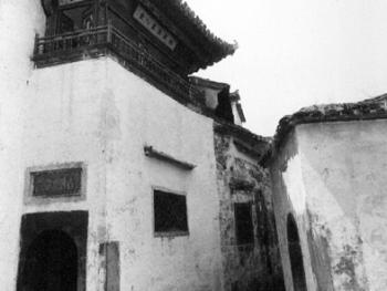 徽州古民居――西递村