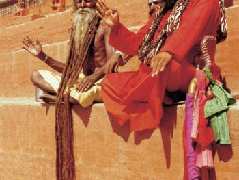尼泊尔神圣的人们