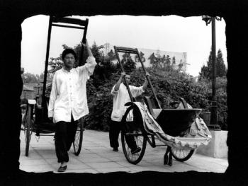 北京城里的人力车夫03