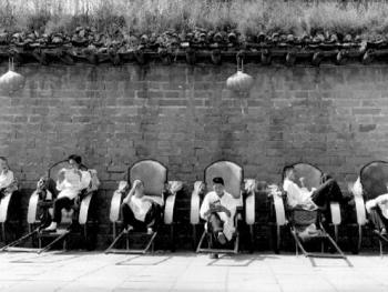 北京城里的人力车夫01