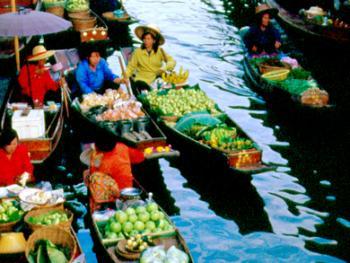 泰国水上市场02