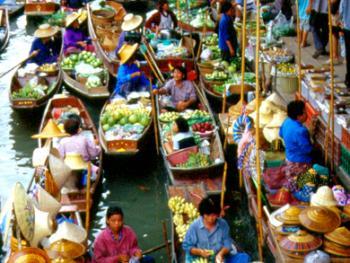 泰国水上市场01