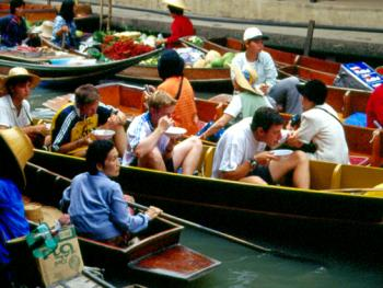 泰国水上市场12