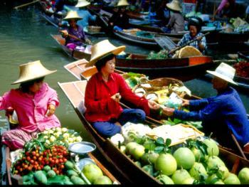 泰国水上市场08