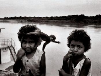 亚马逊河上的秘鲁人