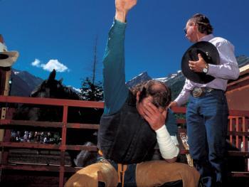 美国西部牛仔竞技