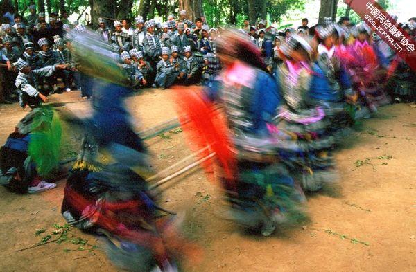 摄影 彝族/彝族荞菜节12