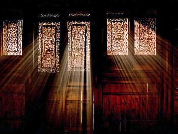 门窗隔扇雕饰
