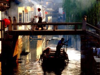 小桥、流水、人家,江南典型建筑