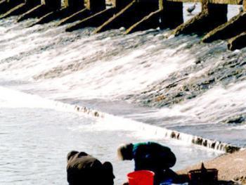 4.板堰桥。小桥流水人家。2002年01月板堰村