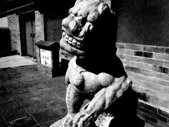 8.灵照寺笑狮