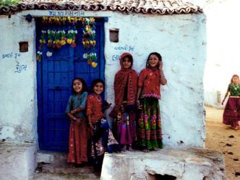 印度拉贾斯坦邦和古吉拉特邦的乡村民居建筑 (3)