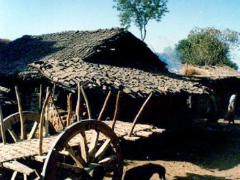 印度拉贾斯坦邦和古吉拉特邦的乡村民居建筑 (4)