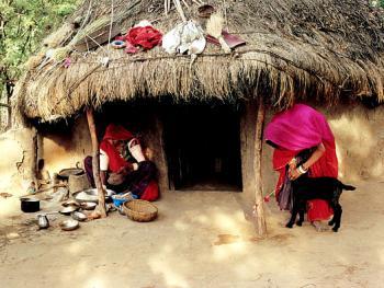 印度拉贾斯坦邦和古吉拉特邦的乡村民居建筑 (5)