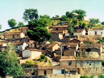 印度拉贾斯坦邦和古吉拉特邦的乡村民居建筑 (6)