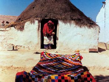 印度拉贾斯坦邦和古吉拉特邦的乡村民居建筑 (9)