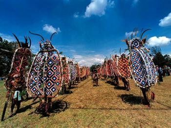 巴布亚新几内亚星星秀舞