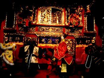 台湾地区传统戏曲布袋戏