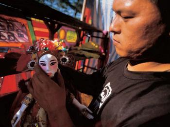 台湾地方传统戏曲布袋戏04