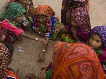 Rabari部落的儿童婚礼04