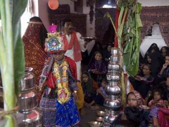 Rabari部落的儿童婚礼06