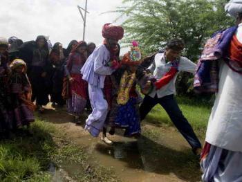 Rabari部落的儿童婚礼08