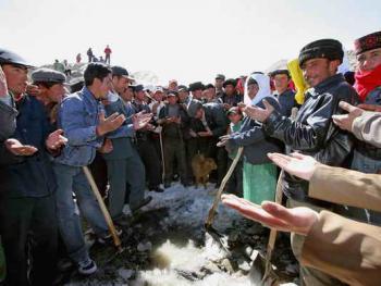 塔吉克的肖贡巴哈尔节