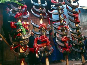 苗岭祭祖仪式