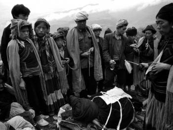 一个彝族老人的葬礼