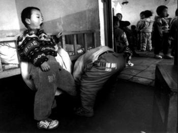 8.他们在小的时候就学会了互相帮助。