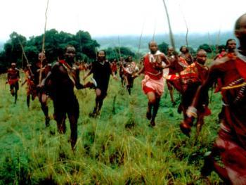 红赭石、白石粉——乌干达的马萨伊人10