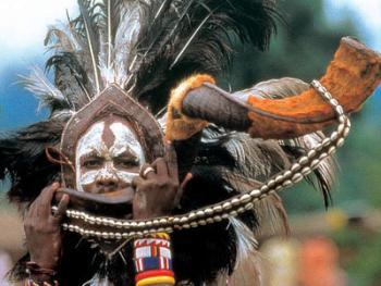 红赭石、白石粉——乌干达的马萨伊人11