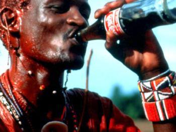 红赭石、白石粉——乌干达的马萨伊人08