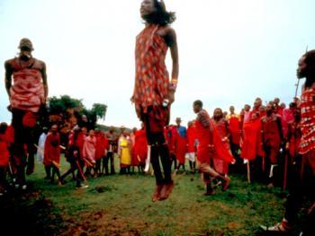 红赭石、白石粉——乌干达的马萨伊人09
