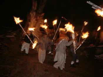 卡拉什族的查莫斯节